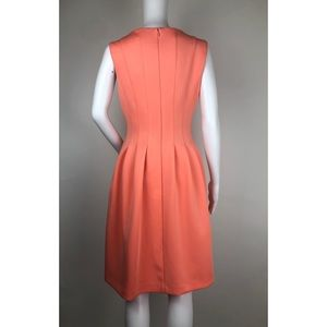 Calvin Klein Dresses - Calvin Klein Coral Sleeveless Dress Size 12